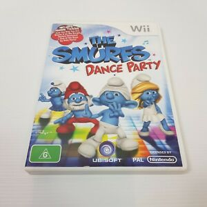 THE SMURFS Dance Party (Nintendo Wii) PAL Video Game - Complete