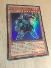 Coach Captain Bearman JOTL-EN092 Ultra Rare 1st Edition Yugioh Card