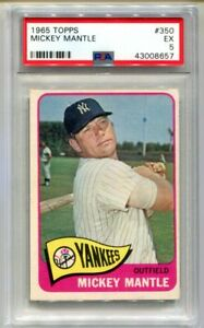 1965-Topps-Mickey-Mantle-350-PSA-5-EX-Yankees-Blazer-CBF