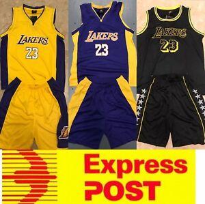 low priced c8f47 8c777 Details about LA Lakers Lebron James kids jerseys set, or Rocket Harden  Kids jerseys set