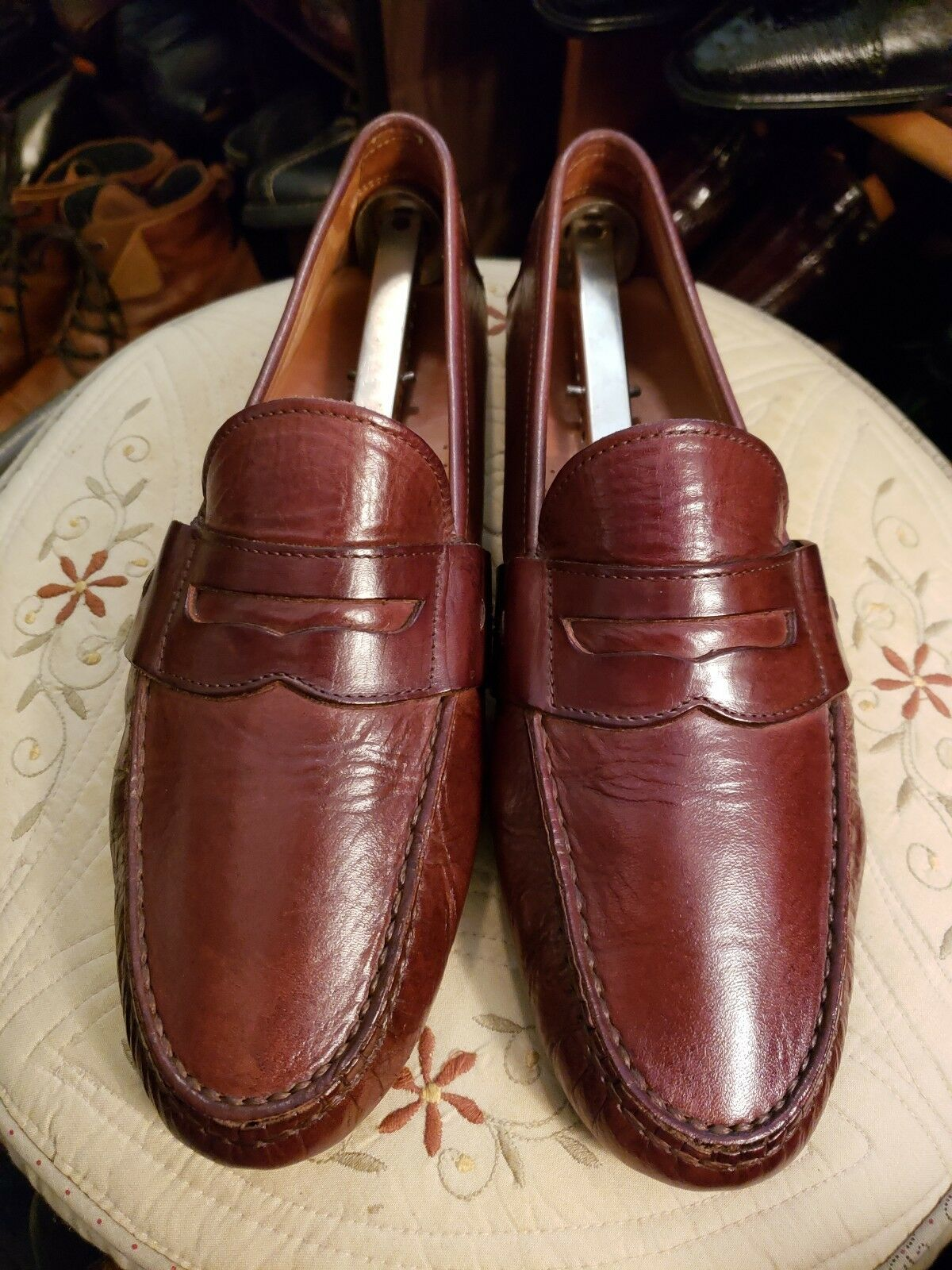 Ralph lauren Men Driving Loafers Sz.9.5-M