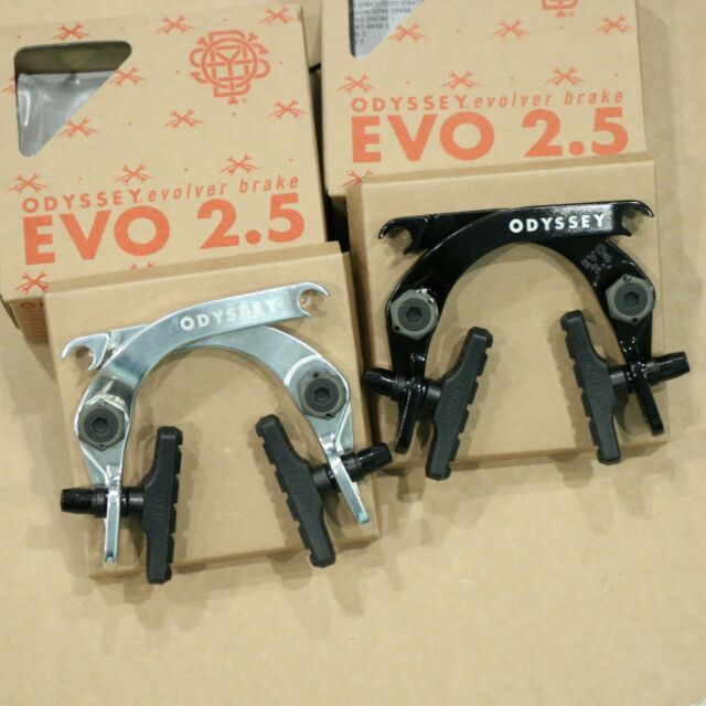 ODYSSEY EVO 2 BLACK BMX BICYCLE U-BRAKE
