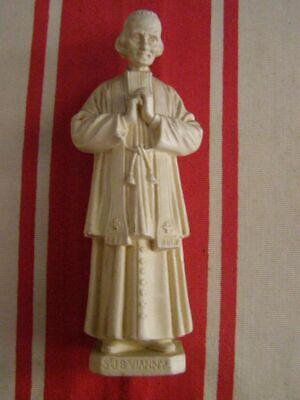 EnergéTico Statuette En Résine St Jean Baptiste Vianney Y Tener Una Larga Vida.