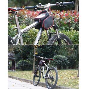 Waterproof 6 2 Bike Front Frame Bag Touch Screen Phone Holder Mtb