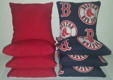 SET OF 8 ALL WEATHER BOSTON RED SOX CORNHOLE BEAN BAGS ***FREE SHIPPING!!!!***