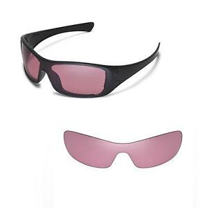 43d31b68d46 Image is loading New-Walleva-Pink-Replacement-Lenses-For-Oakley-Antix-