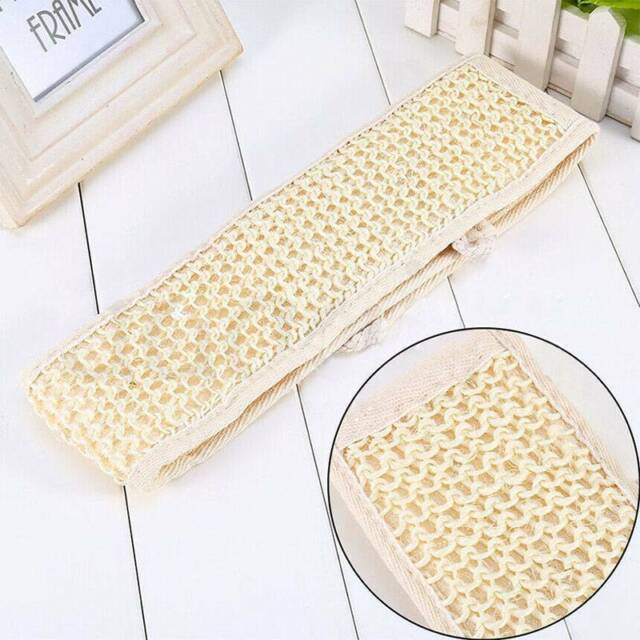 Exfoliating Wash Tool Shower Strap Bath Brush Clean Strip Body