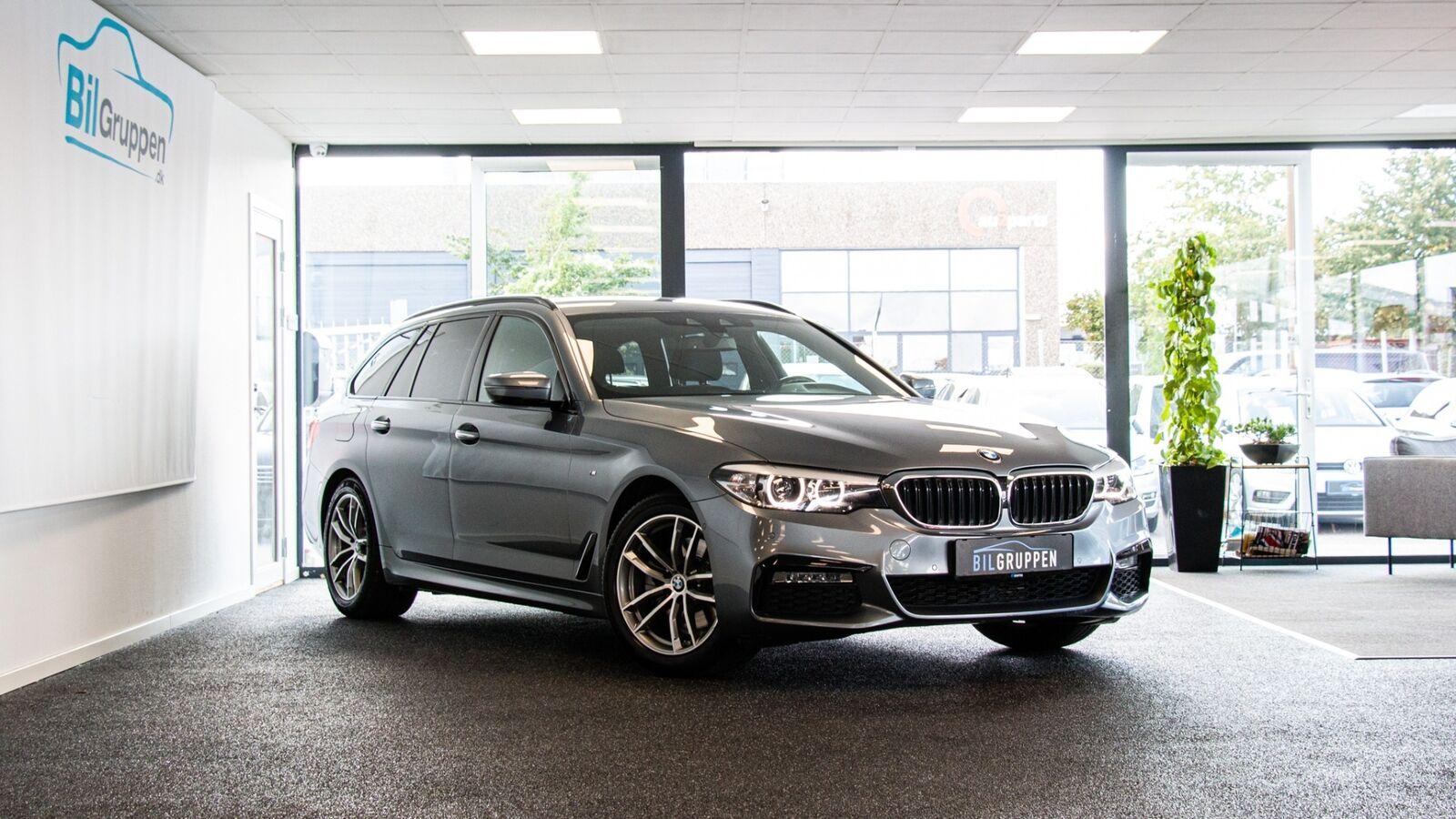 BMW 520d 2,0 Touring M-Sport aut. 5d - 439.900 kr.