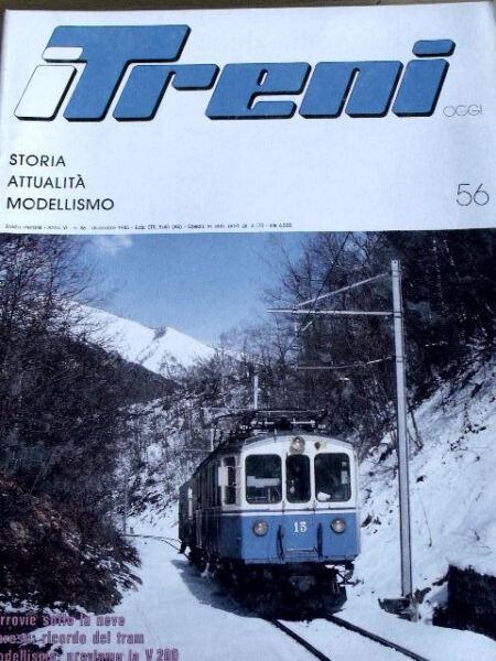 AgréAble I Treni 56 1985 Varese Ricordo Dei Tram - Modellismo Proviamo La V 200