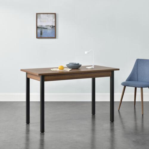 en. casa Table à manger table de cuisine salle à manger Table à manger table de table MDF 120//140x60cm