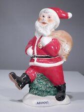 +# A009063_01 Goebel Archiv Muster Weihnachtsmann Nikolaus mit Sack 15-006