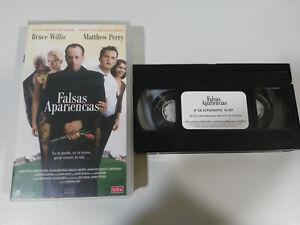 FAUX-SEMBLANTS-BRUCE-WILLIS-PERRY-MATTHEW-VHS-BANDE-COLLECTOR-CASTILLAN