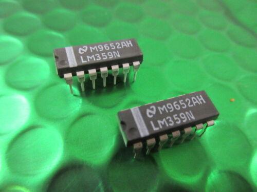 mode actuel amplificateurs ** 2 par vente ** LM359N double haute vitesse programmable