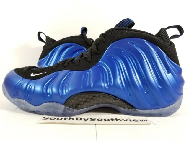 new concept a0fd4 51f5e Nike Air Foamposite One XX 20th Anniversary Royal Blue 895320-500 Size 7 8