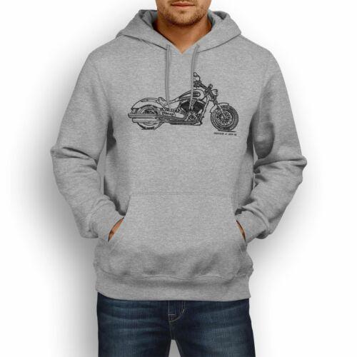 JL Illustration For A Victory Gunner Motorbike Fan Hoodie