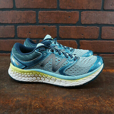 Ejecutable Neuropatía dirección  VGC! New Balance Fresh Foam 1080 v7 Womens Size 7.5 Running Shoes Blue Gray  Yell   eBay