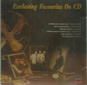 二手 銀圈版CD 有2點透光 播放正常 冇花 EVERLASTING FAVOURITES ON CD 面紙和底紙是彩色複印 LOVE'S NOT FOR ME