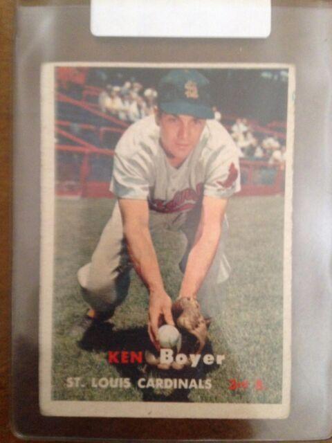 1957 Topps Ken Boyer #122 Baseball Card VG