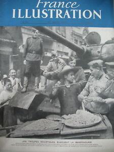 25-CHINE-MANDCHOURIE-TROUPES-SOVIETS-TAPISSERIE-LURcAT-FRANCE-ILLUSTRATION-1946