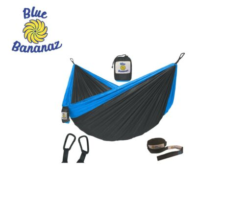 Double Parachute Hammock with Tree Straps