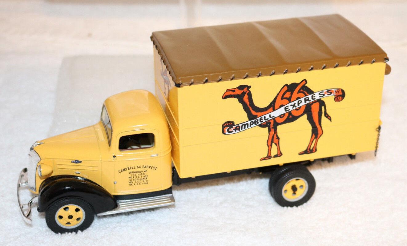 promociones emocionantes 1st Gear 1937 Campbell 66 Express Express Express Chevrolet Juguete Camión de Cochega. escala 1 34 Nuevo En Caja  preferente