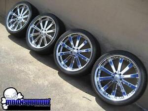 Details About 22 Fortune Alloys Power Trip Chrome Wheels Rims Mercedes Benz Gl 22x9 5x112