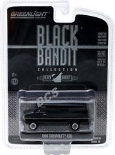 GREENLIGHT 1986 CHEVROLET G20 VAN BLACK BANDIT 1/64 DIECAST CAR 27880 C