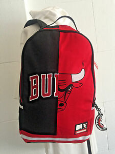 0bf9a06c93c Image is loading Unisex-Sprayground-NBA-Chicago-Bulls-Embroidered-Backpack
