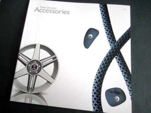 SAAB accessori 2010 UK Opuscolo 9-3//9-5//HIRSCH