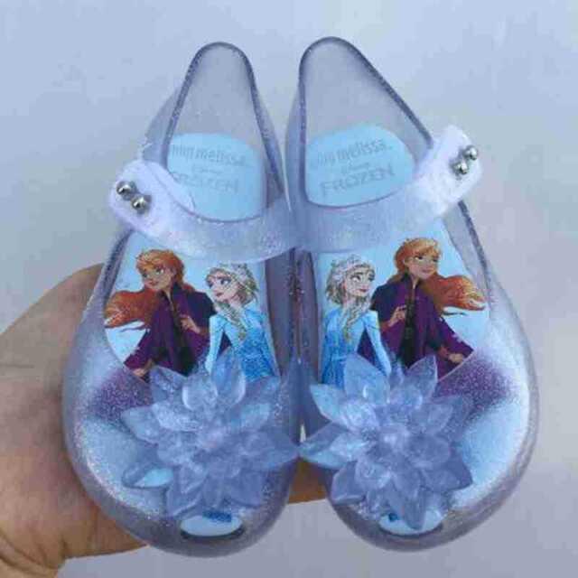 Newest Mini Melissa Mickey Princess Beach Sandals Kids Toddler Size US Size 7-11
