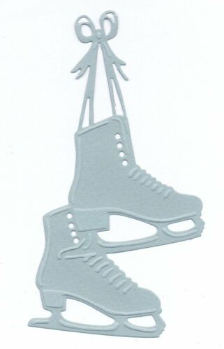 3 Cuts Pads ice for scrapbooking Die Cut ice skates for scrapbooking