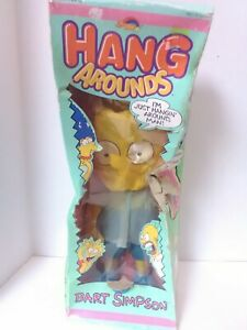 """Vintage1990  THE SIMPSONS BART SIMPSON """"HANG AROUNDS"""" SPECTRA STAR Fast Shipping"""