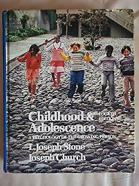 Childhood and Adolescence : A Psychology of the Growing Person-ExLibrary