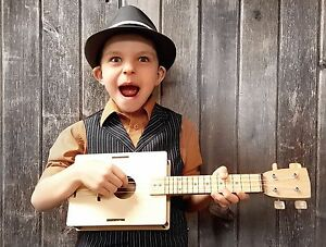 Build-It-Yours<wbr/>elf DIY Soprano Ukulele Kit - Sounds Great! A Fun and Easy Project