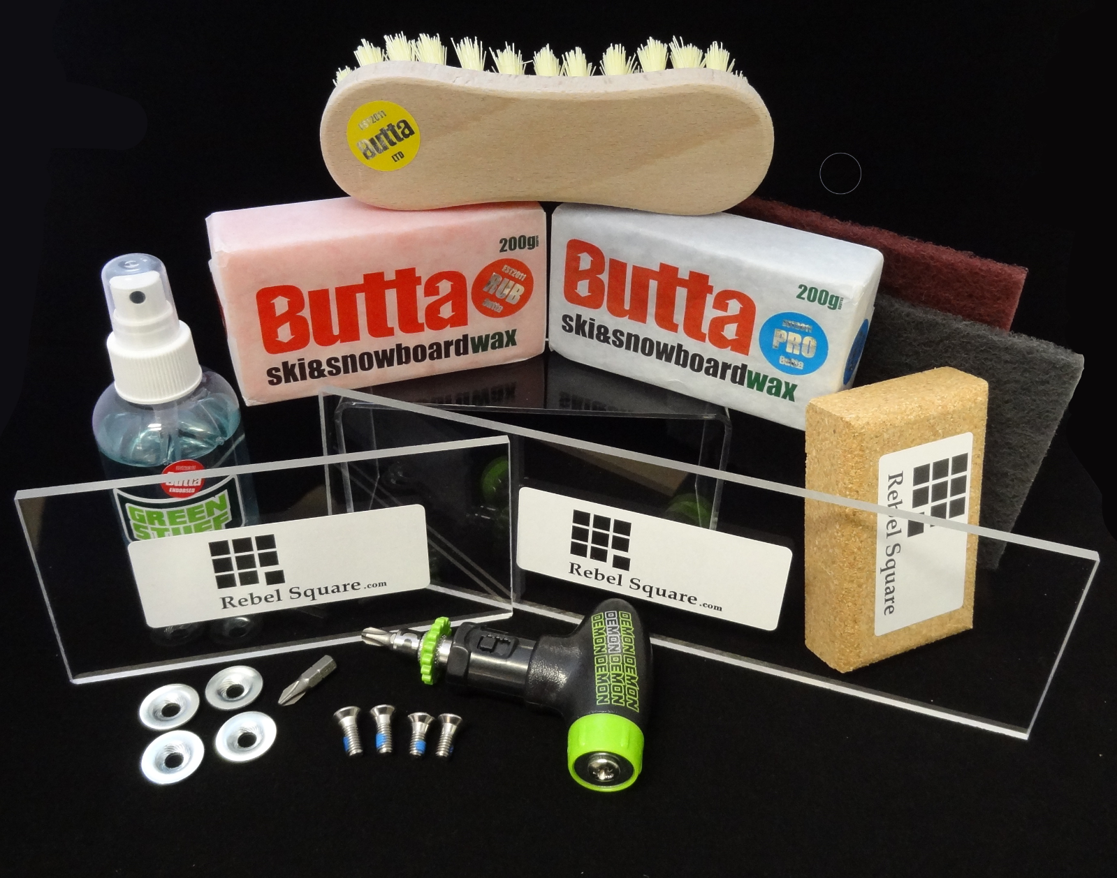Snowboard - Ultimate Butta Wax Kit