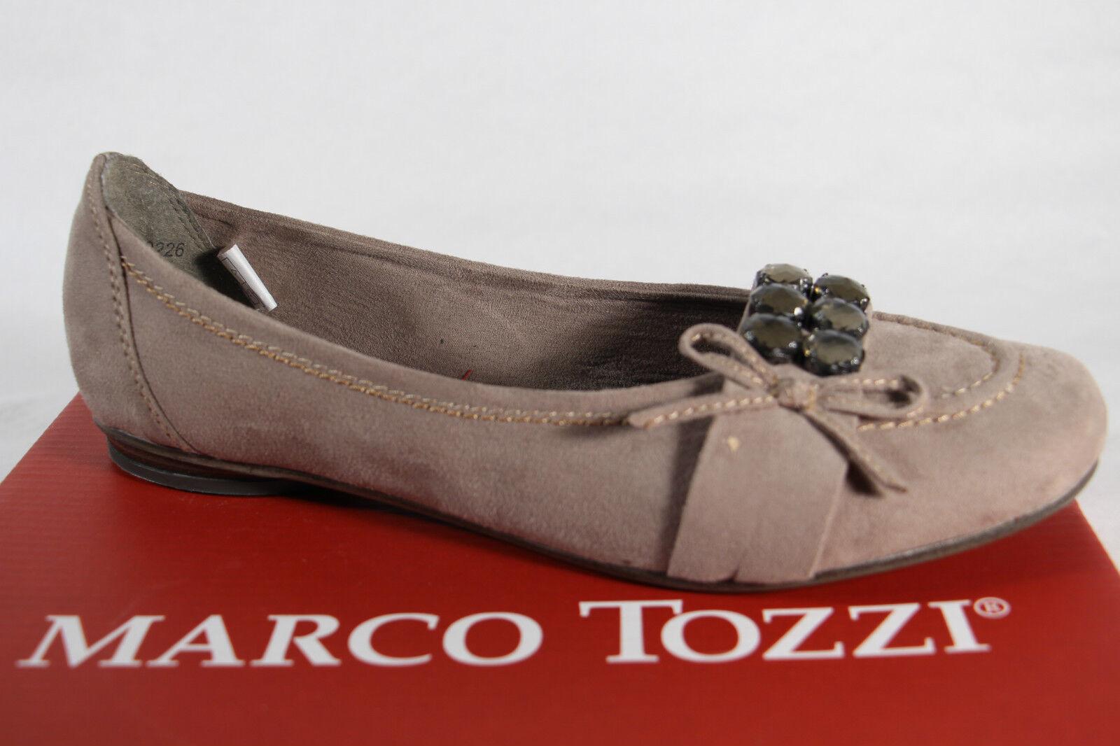 Marco Tozzi Court Shoes Ballerina Slippers Beige Soft Inner Sole EUR ... 0434de57cb