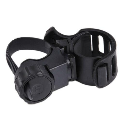 360° Swivel Bicycle Mount Holder Clip Clamp for Bike LED Flashlight Torch SG