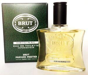 Dettagli su Brut Original Parfums Prestige Eau De Toilette Uomo 100ML Spray