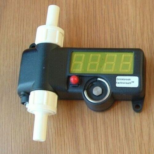 """Beer line monitoring stock control  Flow Meter  DBS121 Xactrocount 3//8/"""" x 1 New"""