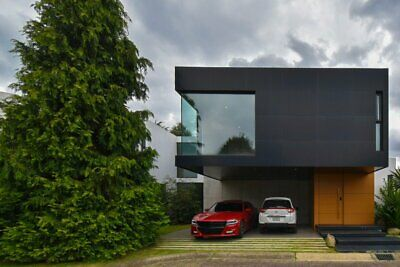 Residencia moderna minimalista galerías Metepec