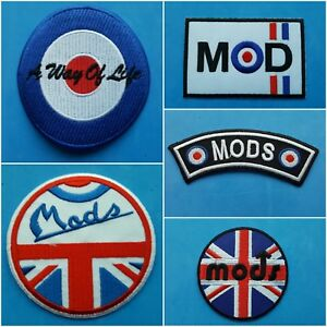 COLLECTION OF FIVE INDIVIDUAL SEW ON WIGAN CASINO IRON ON PATCHES: