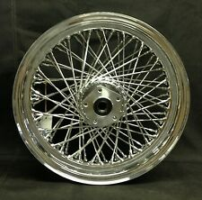 "Chrome Ultima 80 Spoke 16 x 3.0"" Front Wheel for 1984-1999 Harley and Custom"