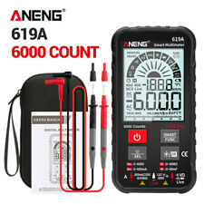 Aneng 619a Lcd Digital Multimeter True Rms Acdc Voltage Tester Resistance Meter