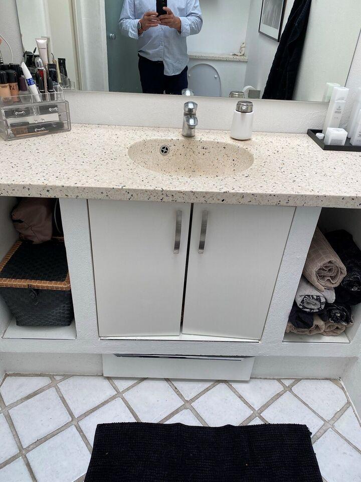 Bordplade, Terrazzo bordplade med håndvask