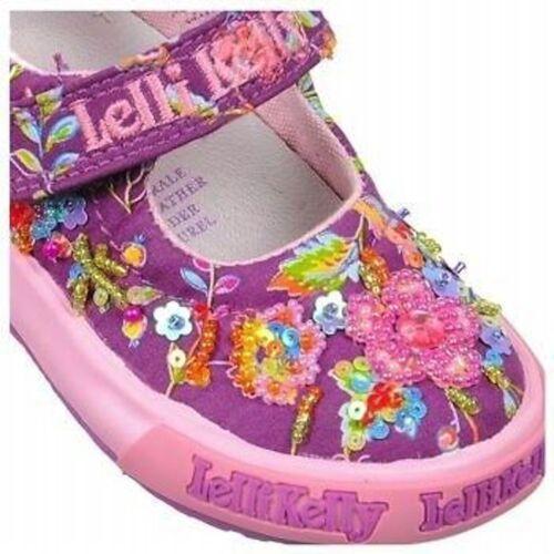 Lelli Kelly Angel Baby Dolly LK9415 Purple Mary Janes Liliac NEW girls Toddler