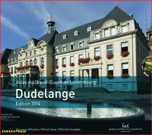 LUXEMBURG - BU SET 2014 - DUDELANGE - 9 MUNTEN