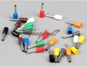 "14 Ga 0.31/"" Pin Lg Gray Insulated Ferrule Strips pack of 50 -"