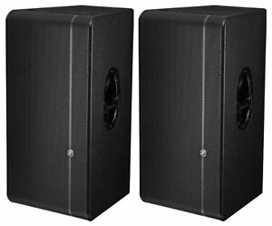 2 new mackie hd1531 15 powered active 3 way 3600 watt speakers hd 1531 ebay. Black Bedroom Furniture Sets. Home Design Ideas