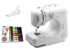 Heavy Duty Electric Sewing Machine Mini Portable Tailoring Lightweight 2 Speeds