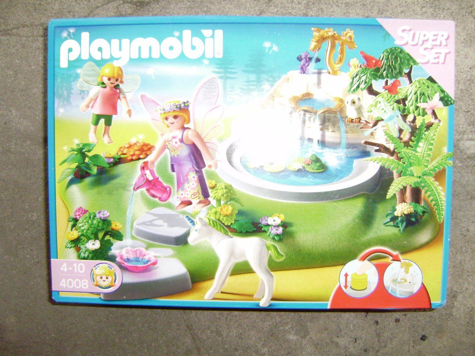 Playmobil 4008 Super Set Elfengarten mit Brunnen Mädchen